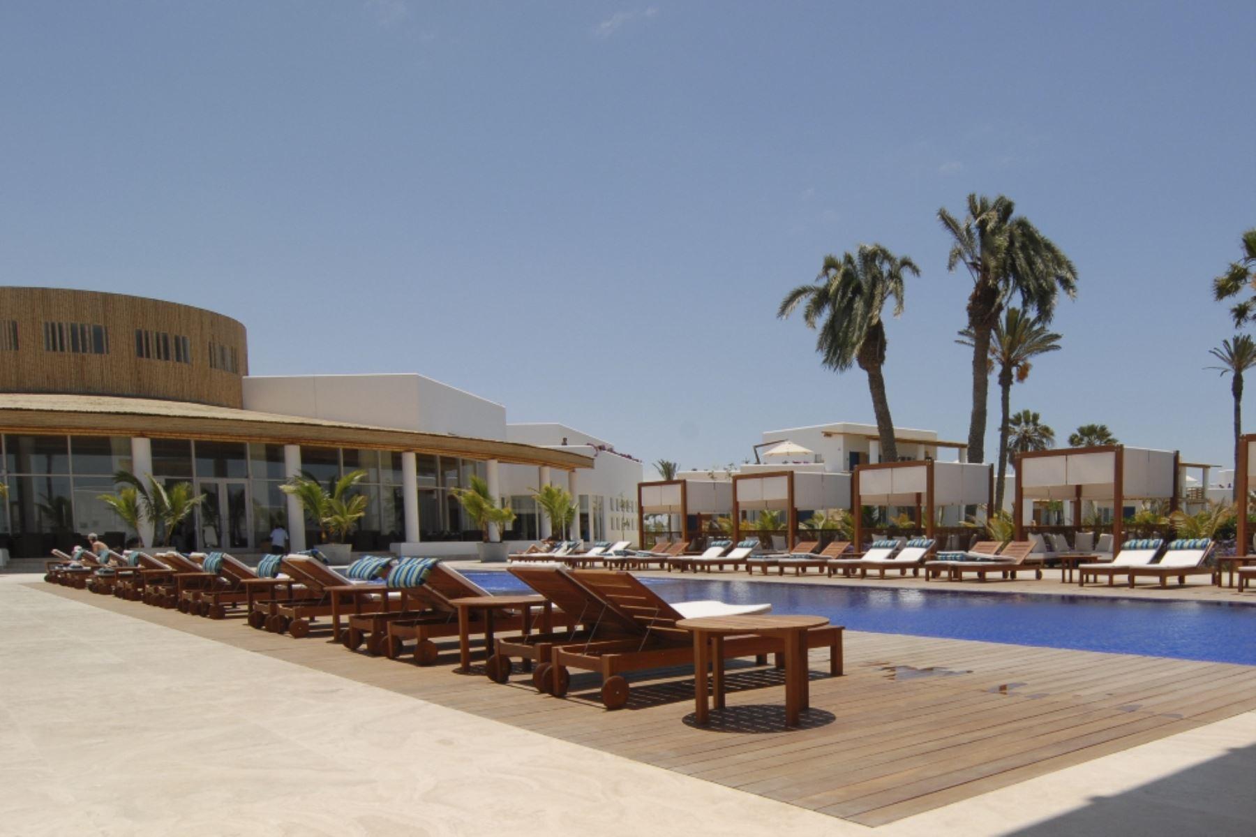 El feriado por Semana Santa permitió a los hoteles ubicados en Paracas recuperar su actividad turística. ANDINA/Archivo
