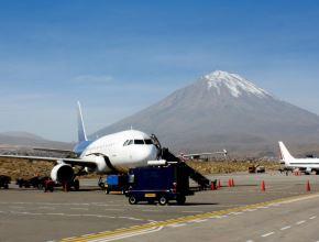 El aeropuerto de Arequipa poco a poco está normalizando sus actividades y a fin de año espera cerrar con un millón de pasajeros. ANDINA/Difusión