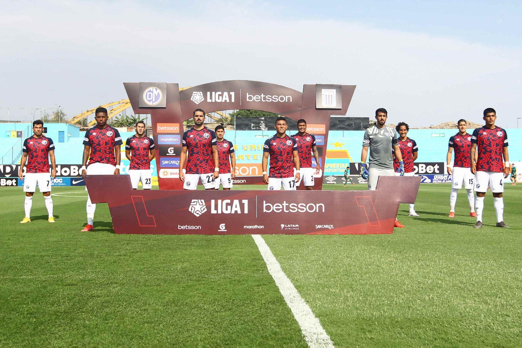 Alianza Lima gana 1  a 0 ante el Deportivo Municipal.  Foto: Liga1FPF