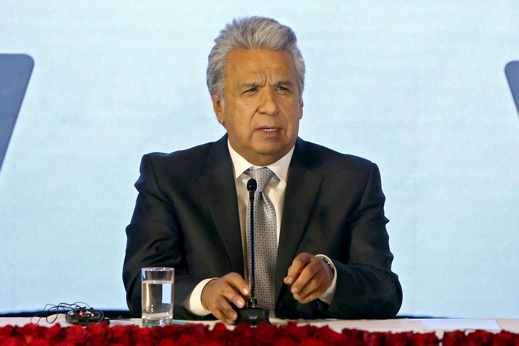 Ecuador, que enfrenta una nueva ola de covid-19, volvió desde la semana pasada a imponer un toque de queda de nueve horas en ocho de las 24 provincias del país. Foto: AFP