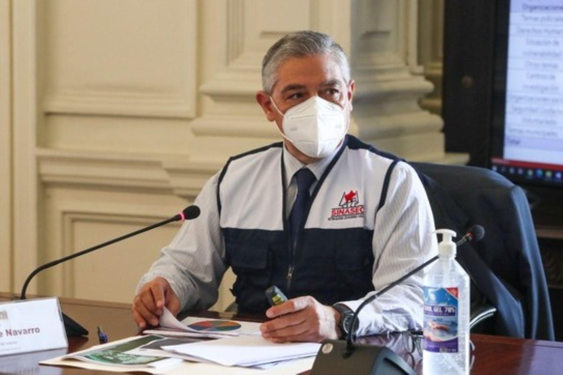 Ministro del Interior, José Elice. Foto: ANDINA/difusión.