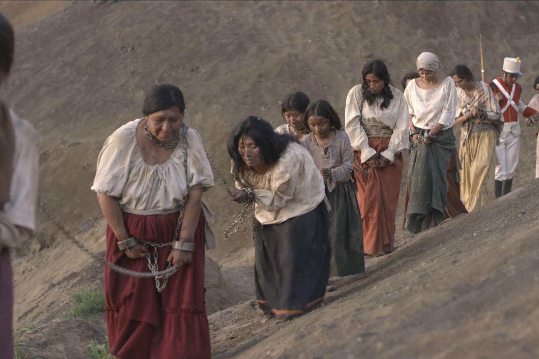 El último bastión es la primera serie peruana y la primera de una televisora estatal latinoamericana que llega a la plataforma mundial Netflix. El trabajo producido por TV Perú cosecha buenas críticas en Hispanoamérica. Foto: TV Perú