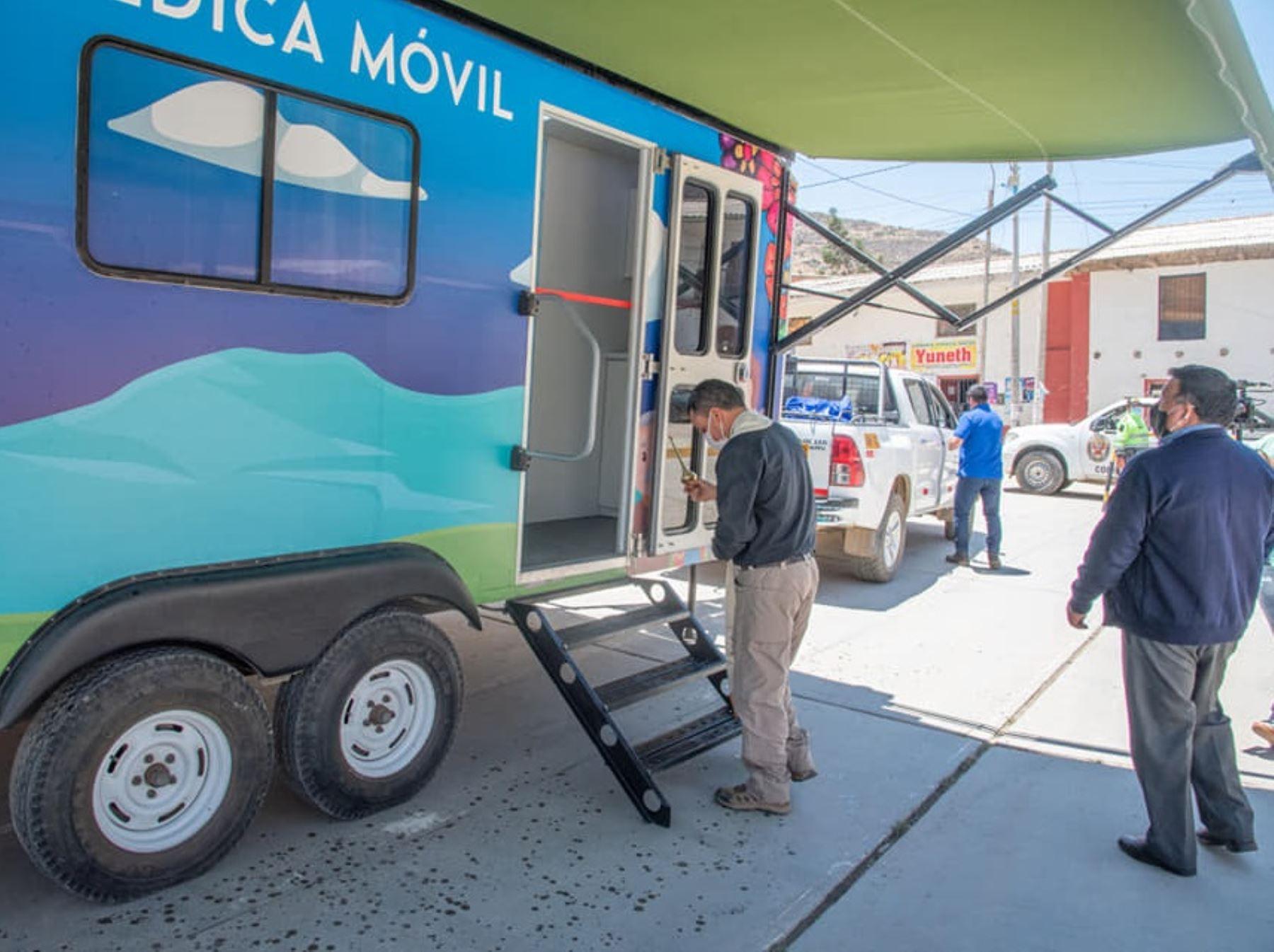 Autoridades de Áncash atenderán con una posta médica móvil a los pobladores de las localidades ubicadas en el callejón de Huaylas. Foto: ANDINA/difusión.