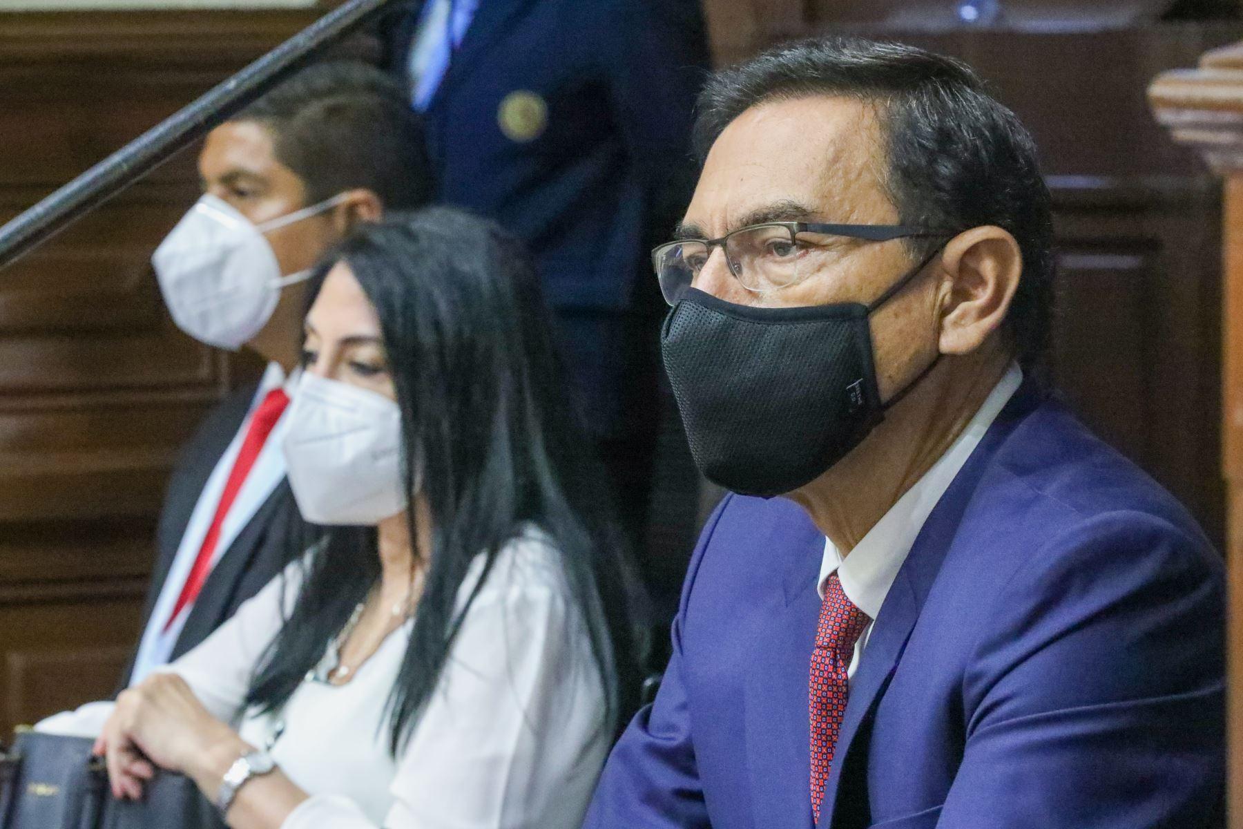Subcomisión aprobó denuncias constitucionales contra Vizcarra por caso vacunas
