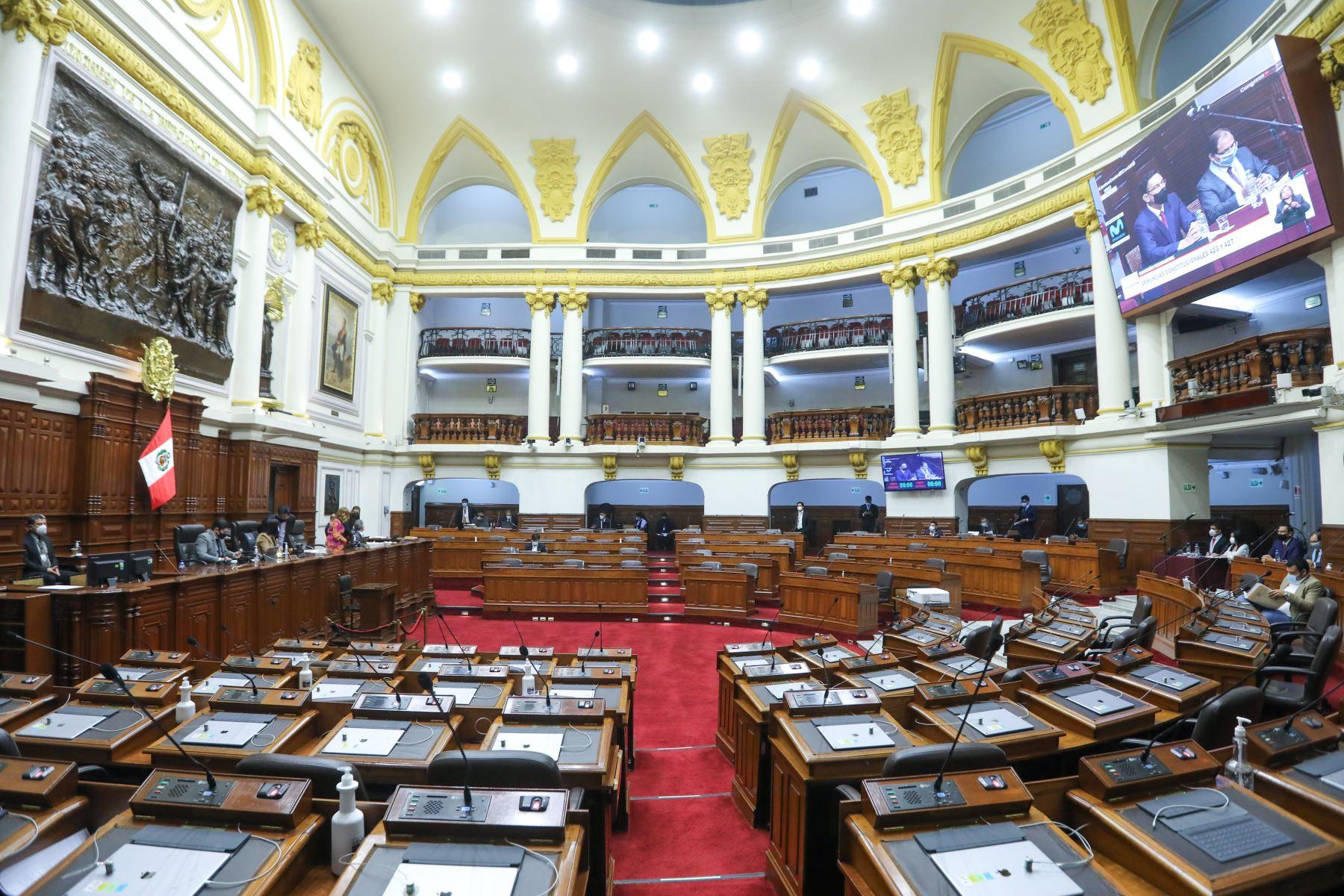 Congreso: Comisión Permanente sesionará el martes 20 de julio