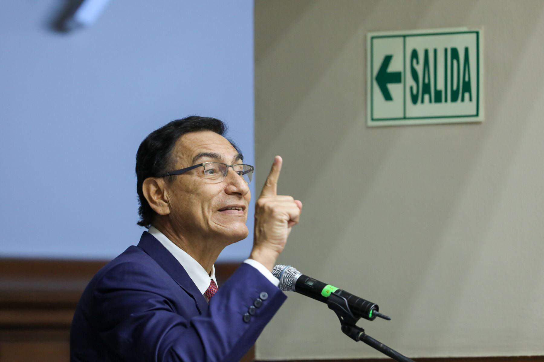 Expresidente Martín Vizcarra. ANDINA/Difusión