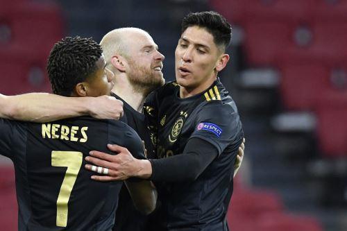 Ajax empata 1 a 1 con la Roma por la Europa League