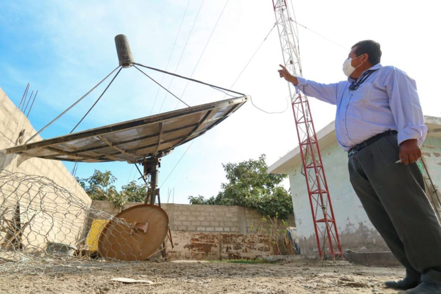 Equipos técnicos harán mantenimiento de antenas de radio y televisión en Arequipa. Foto: ANDINA/Difusión