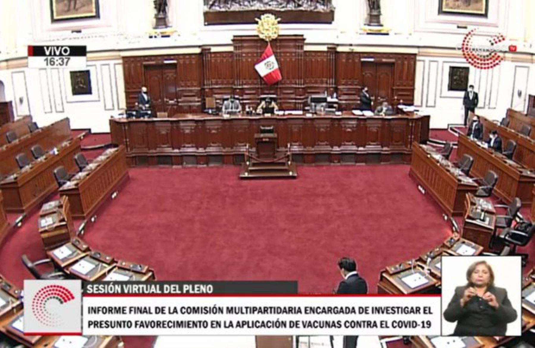 Congreso: elección de magistrados del TC se retomará a las 16:00 horas