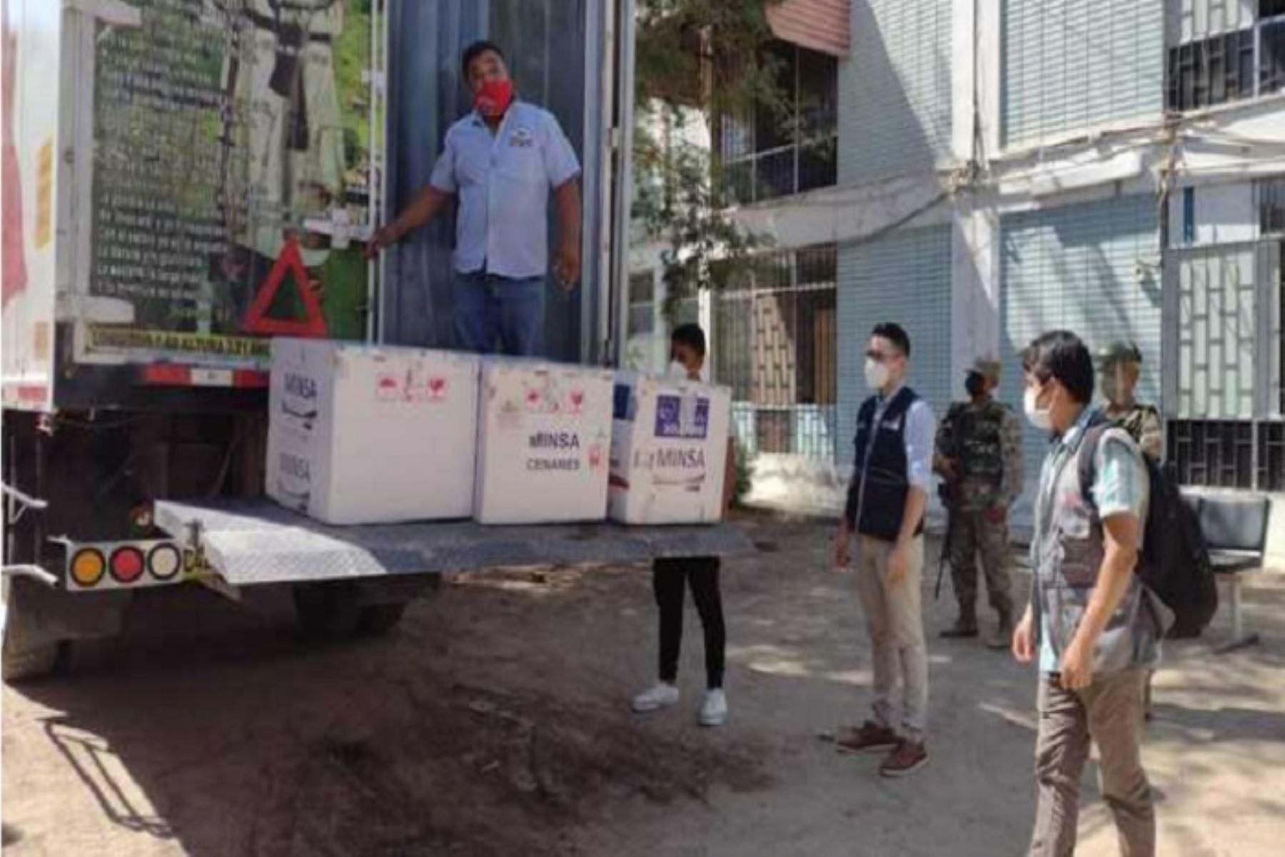 Los puntos de vacunación están ubicados en las zonas de Santa Julia, Consuelo de Velasco, San Pedro, Castilla (Cesamica), Tacalá, Nueva Esperanza, Catacaos, Sechura.