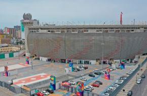 El Estadio Nacional es centro de votación en las elecciones generales de hoy, domingo 11 de abril. Foto: IPD/Cortesía