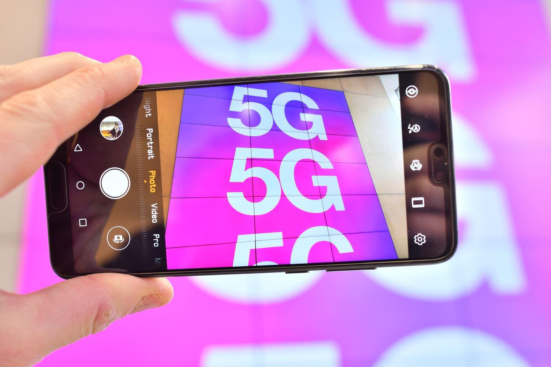 Proceso de masificación de la tecnología 5G en el Perú tomará entre 5 y 8 años. (Foto: AFP)