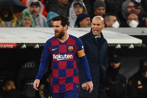 Zidane le pide a Messi no salir del Barcelona