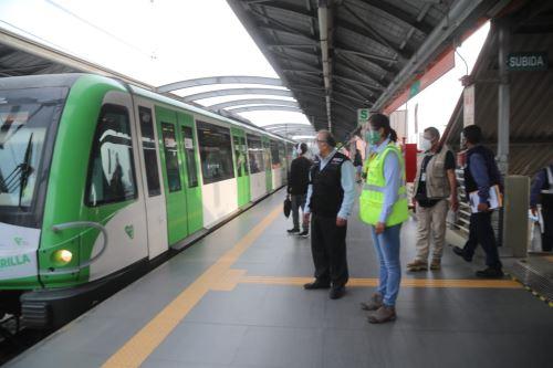 Metro de Lima tendrá horario especial este domingo para facilitar el traslado de las personas a sus centros de votaciones