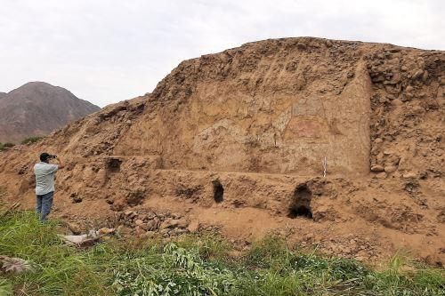 La Libertad: descubren pintura mural de más de 3,200 años en Virú