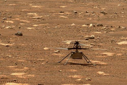 Ingenuity, el helicóptero que la NASA envió a Marte, está listo para su primer vuelo