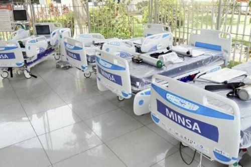 Minsa garantiza adquisición de camas UCI para afrontar la pandemia del covid-19. ANDINA/Difusión