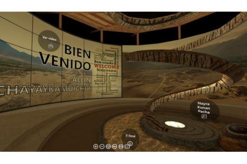El Museo Civilización Caral tiene más de 100 gráficas, entre infografías, fotos, ilustraciones y recreaciones, con información actualizada y didáctica. Foto: ANDINA/ZAC
