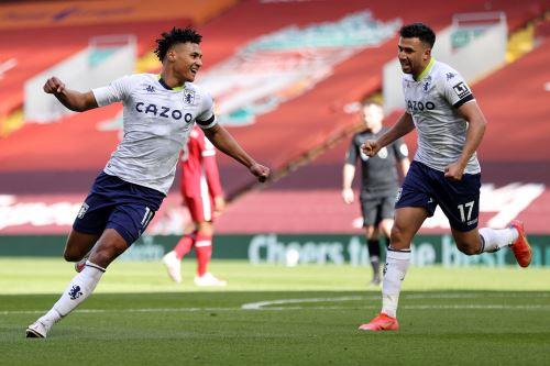 Liverpool gana 2 a 1 al  Aston Villa  por la Premier League Inglesa