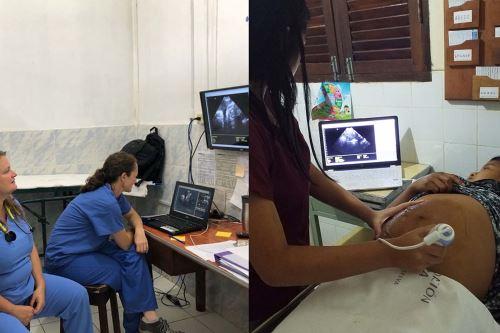 Proyecto de telefonía 3G y telemedicina en 15 comunidades amazónicas a lo largo del río Napo, desde Iquitos hasta la frontera con Ecuador. (Foto: PUCP)
