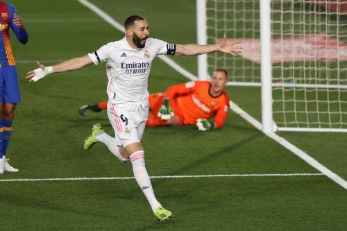 Real Madrid gana 2 a 1 a Barcelona en el clásico de fútbol español