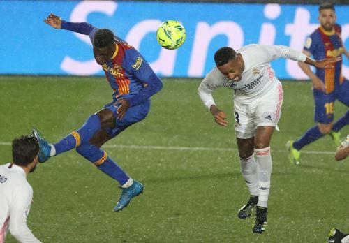 Real Madrid y Barcelona jugaron en el estadio Di Stéfano, de la capital española.