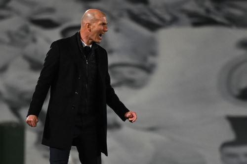 Zidane vive momentos sublimes con el Real Madrid
