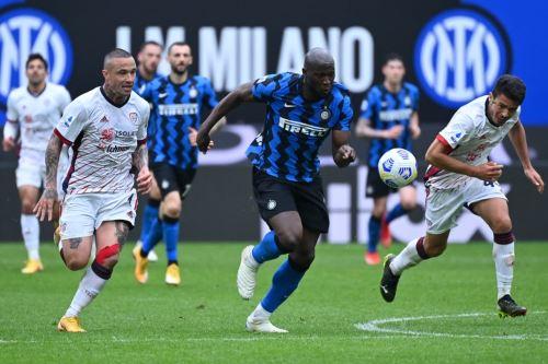 Inter derrotó al Cagliari y va rumbo al título en Italia