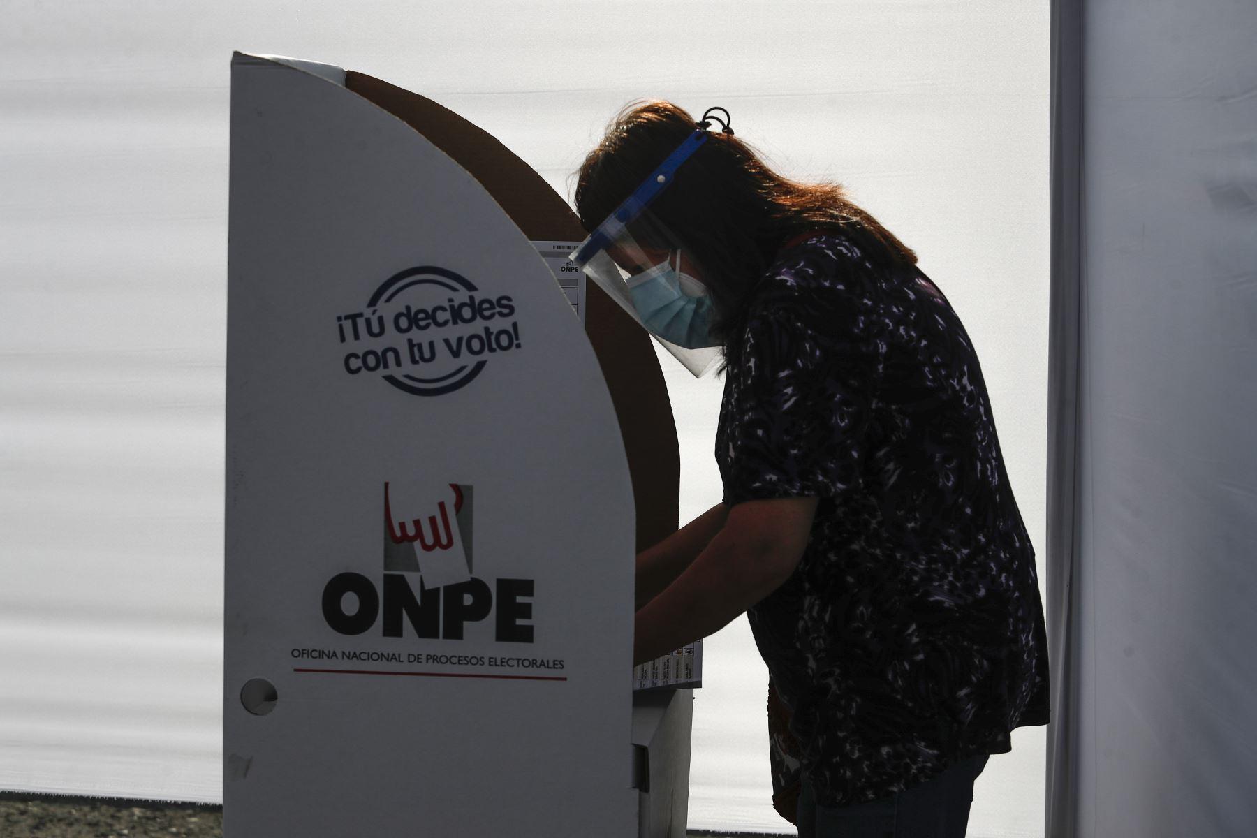 El voto es secreto, recordó el JNE. ANDINA/Renato Pajuelo