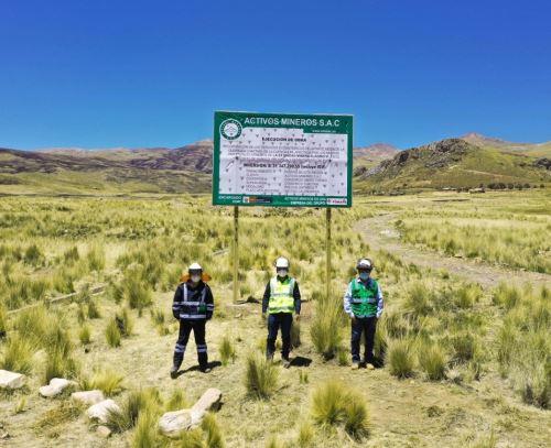 La empresa Activos Mineros reinició los trabajos de remediación ambiental que ejecuta en el proyecto minero Aladino VI, ubicado en la región Puno. ANDINA/Difusión