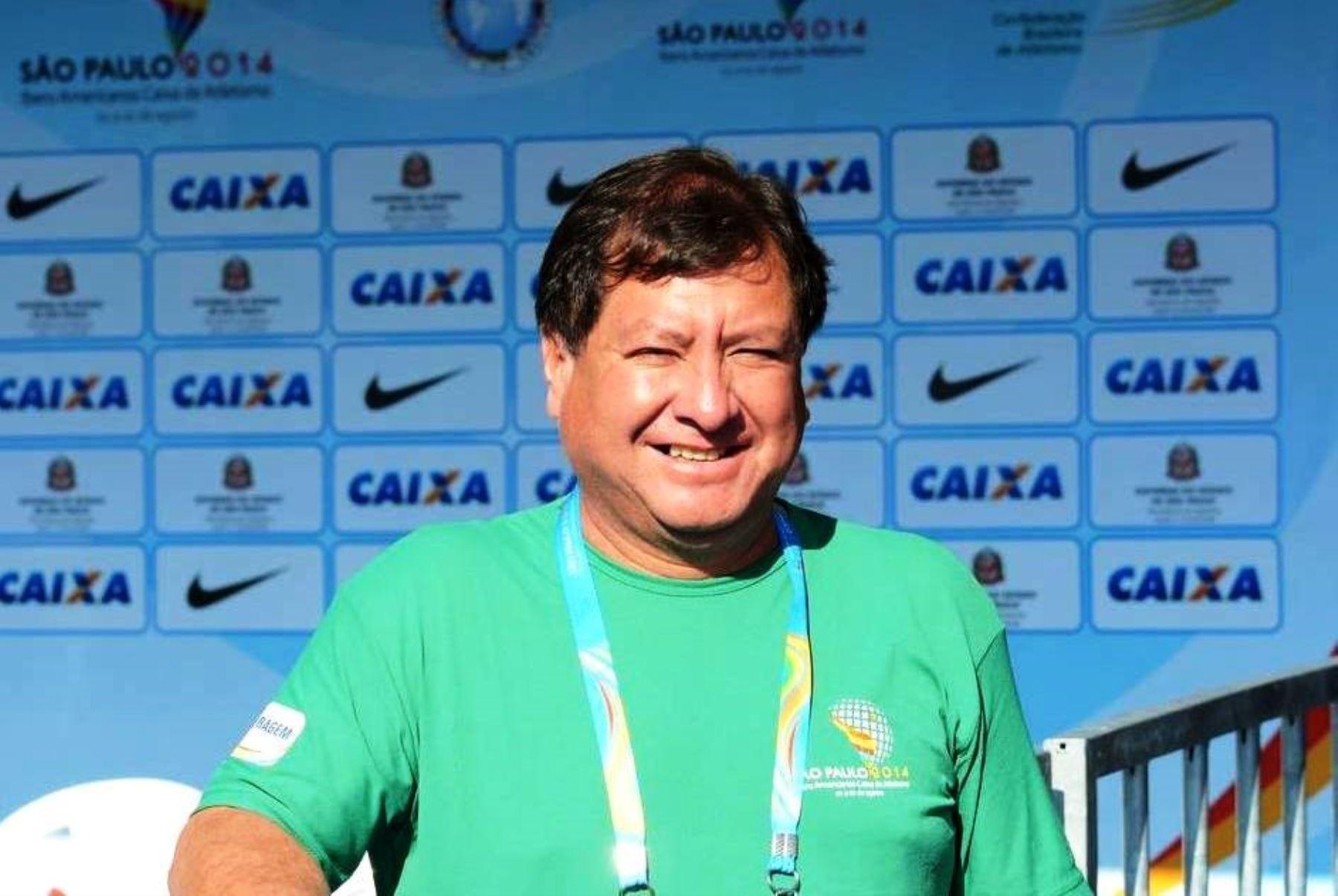 El expresidente de la Federación Peruana de Atletismo Jorge Julián Castro falleció por covid-19 en Cajamarca. Foto: ANDINA/Difusión