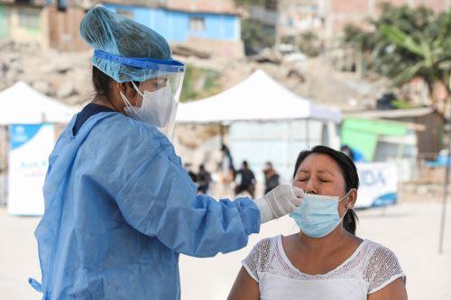 Municipalidad de Lima promueve  campañas gratuitas de descarte de covid-19 en los distritos de Ate, Lurigancho y Chorrillos