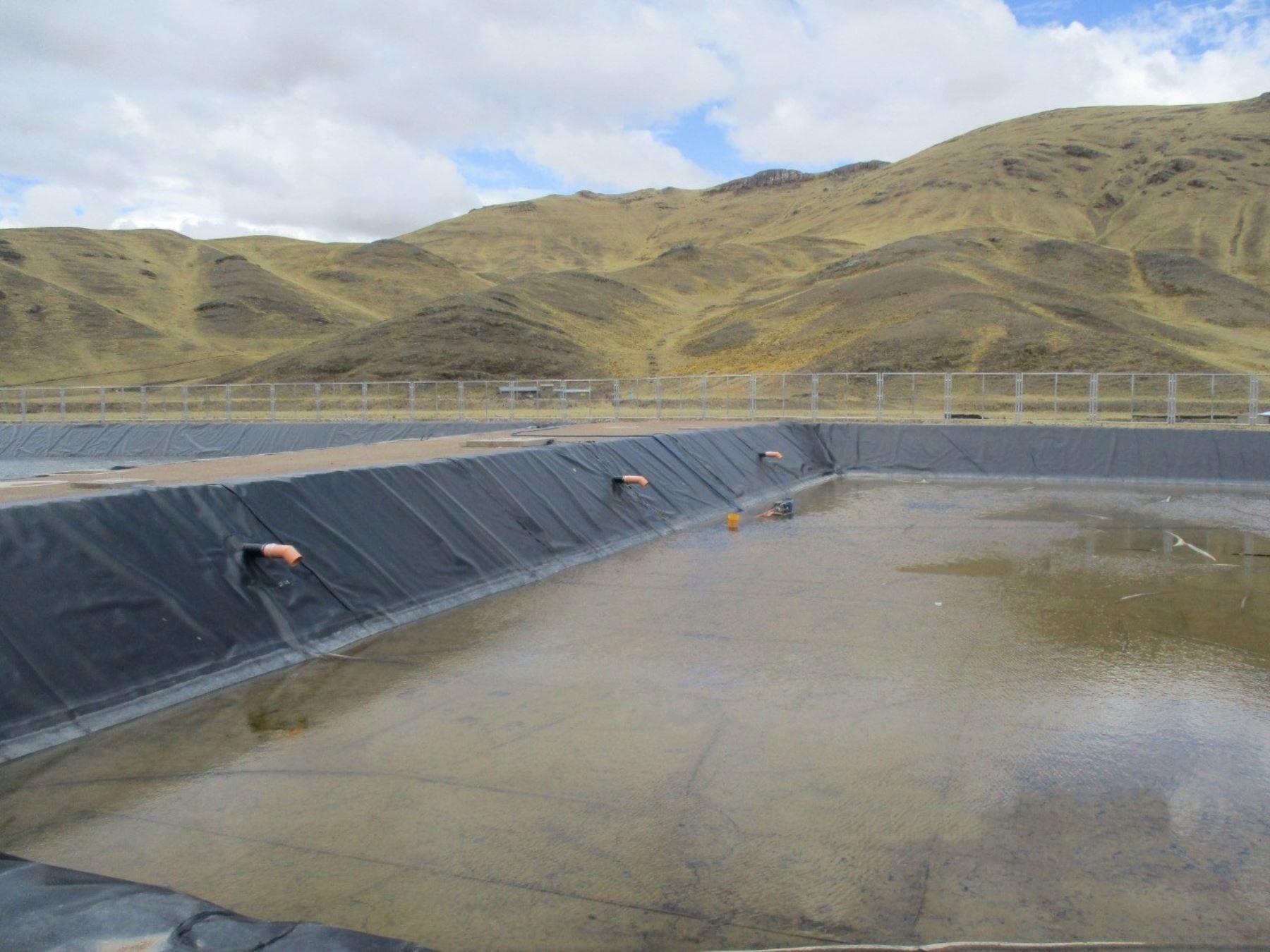 Culminan trabajos de proyecto de saneamiento en distrito de Antauta, región Puno, que fue ejecutado mediante el mecanismo de Obras por Impuestos, resaltó el Ministerio de Vivienda, Construcción y Saneamiento. ANDINA/Difusión