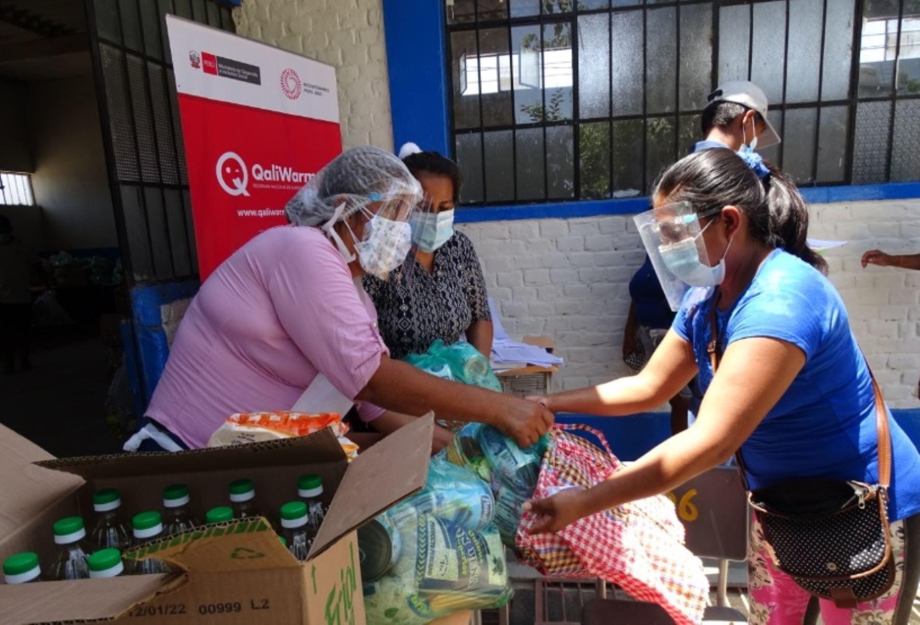 Piura:más de 32 000 escolares con Jornada Escolar Completa reciben alimentos de Qali Warma