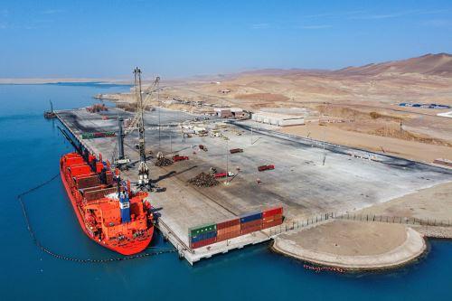 Recepción de obras e inicio formal de operaciones del nuevo Terminal Portuario General en Pisco