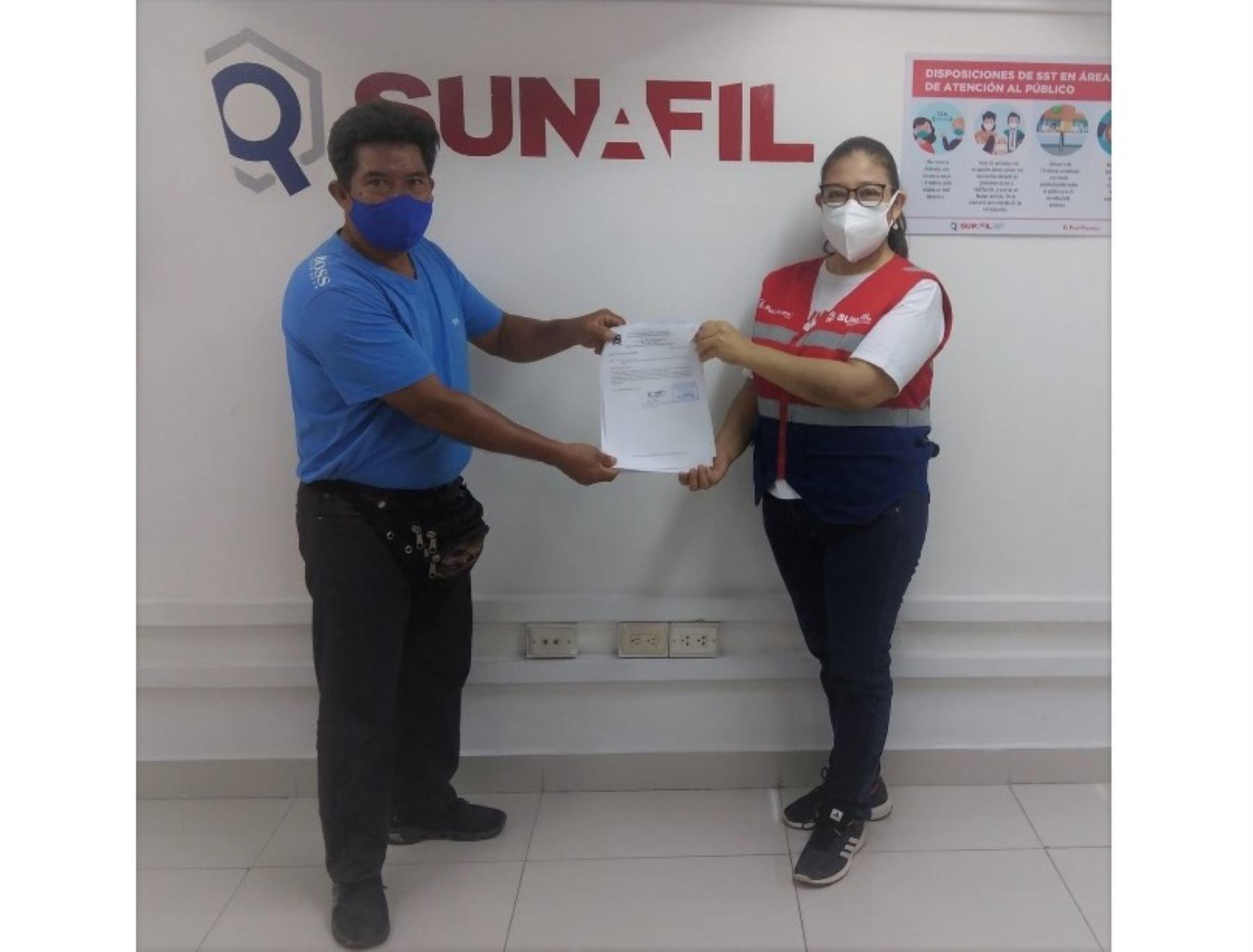 Sunafil restituye a 4 trabajadores del servicio de serenazgo de distrito loretano de Mazán, provincia de Maynas.