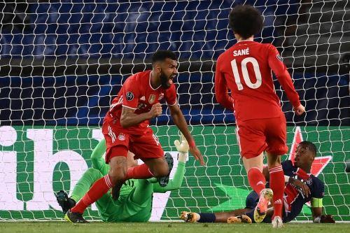 Bayern vence 1 a 0 al PSG por la Champions League