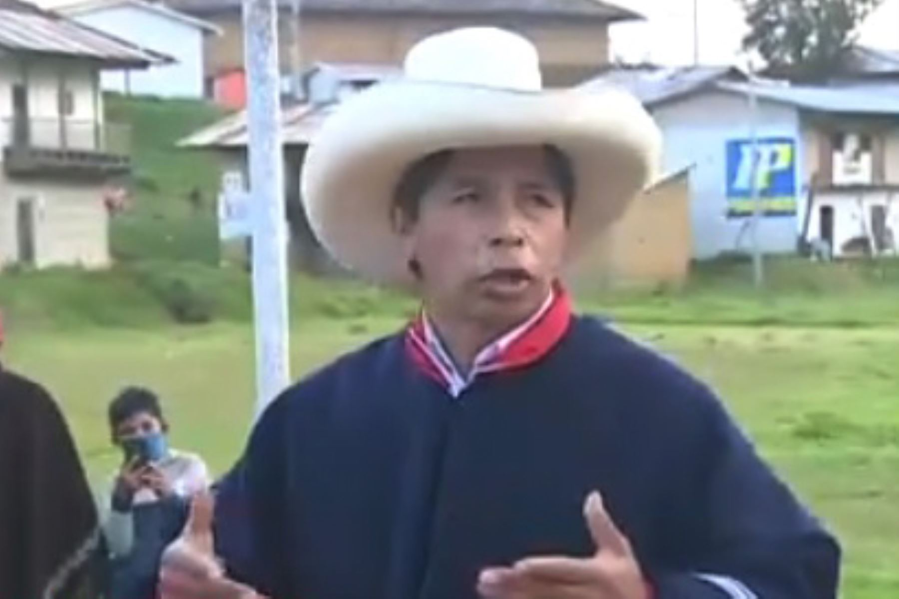 Pedro Castillo viajará mañana a Cutervo para reanudar su campaña. Foto: ANDINA/difusión.