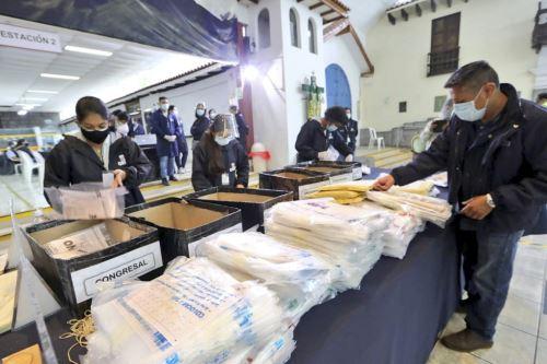 Elecciones Generales 2021: ONPE continúa recibiendo actas electorales provenientes del extranjero