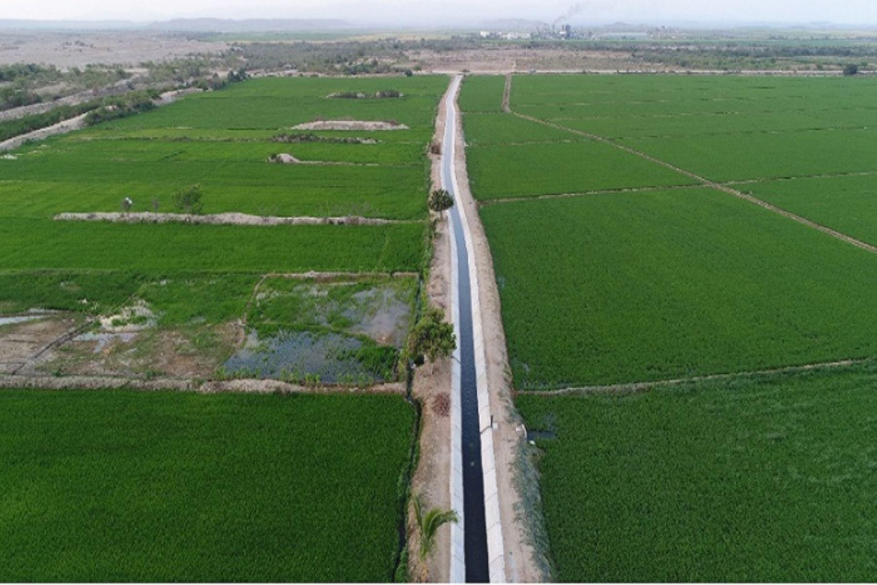Infraestructura hidráulica rehabilitada abastecerá con agua para riego de más de 23,000 hectáreas agrícolas de las mencionadas regiones.