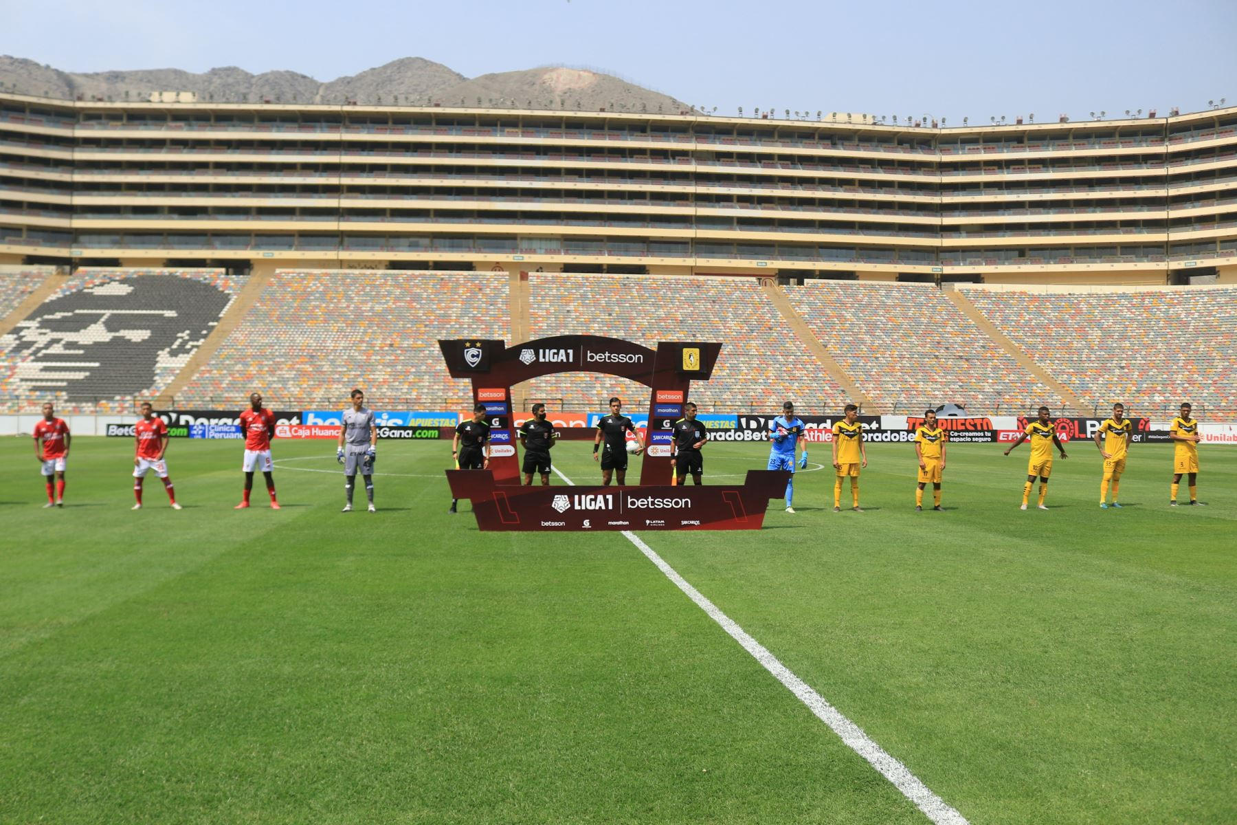 Cienciano del Cusco vence 2 a 0 a Deportivo Cantolao por la Liga 1.  Foto: ANDINA/Liga1