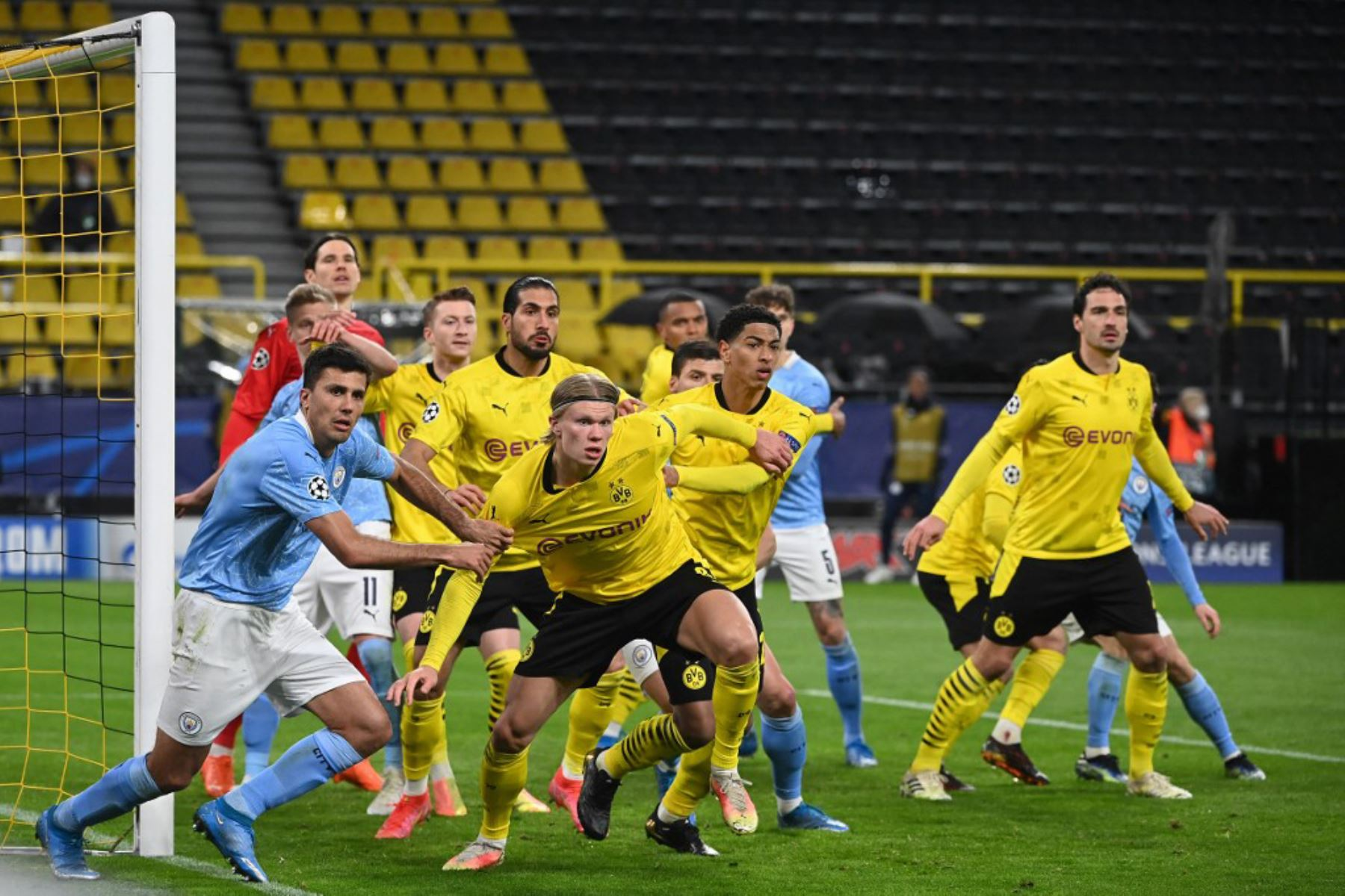 El Dortmund gana sin Haaland, mientras que Wolfsburgo cae