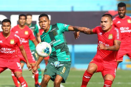 Alianza Lima empata cero a cero con Sport Huancayo