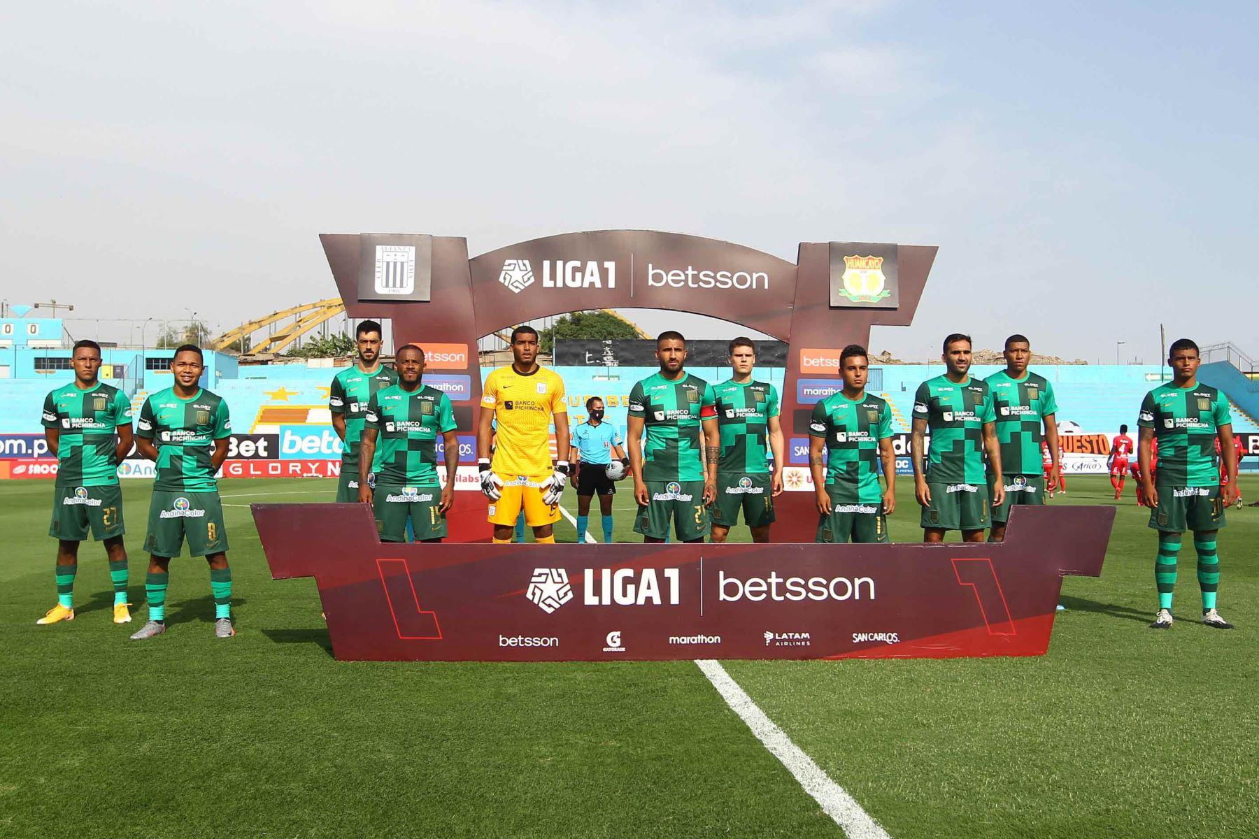 Alianza Lima empata cero a cero con Sport Huancayo.  Foto:ANDINA/ Liga1