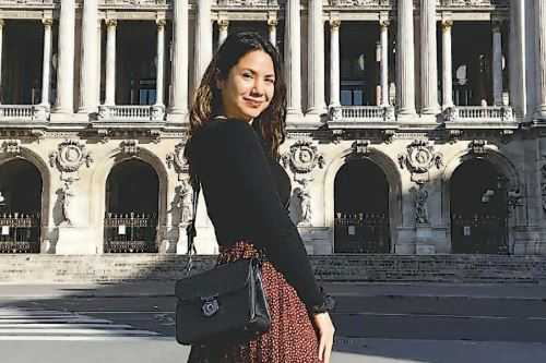 Juliana Volpiani, peruana emprendedora en Francia. Foto: Cortesía
