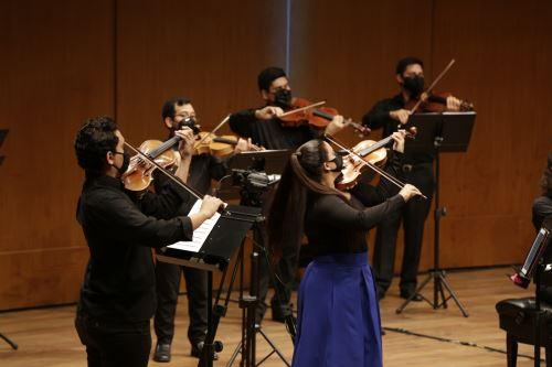 Orquesta Sinfónica Nacional Juvenil Bicentenario inicia su temporada 2021.