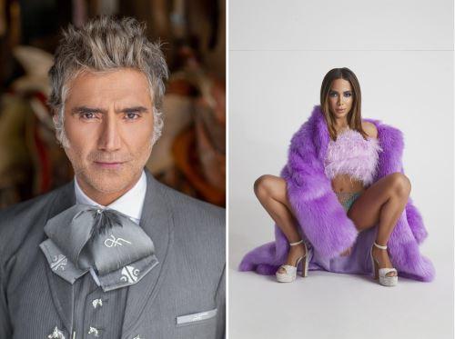Alejandro Fernández y Anitta dan positivo a prueba de covid en los Latin AMAs.