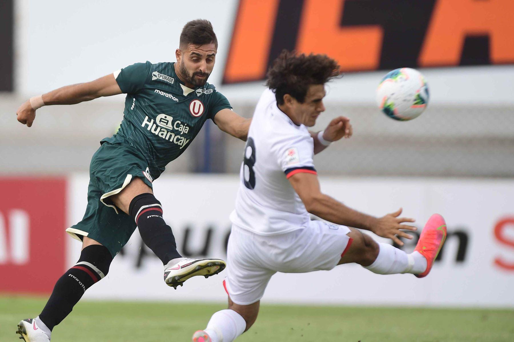Universitario enfrente a la San Martín por la cuarta fecha de la Liga 1.  Foto: ANDINA/Liga1