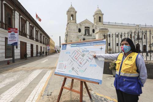 MML presenta plan de desvío por trabajos de peatonalización del Centro Histórico de Lima