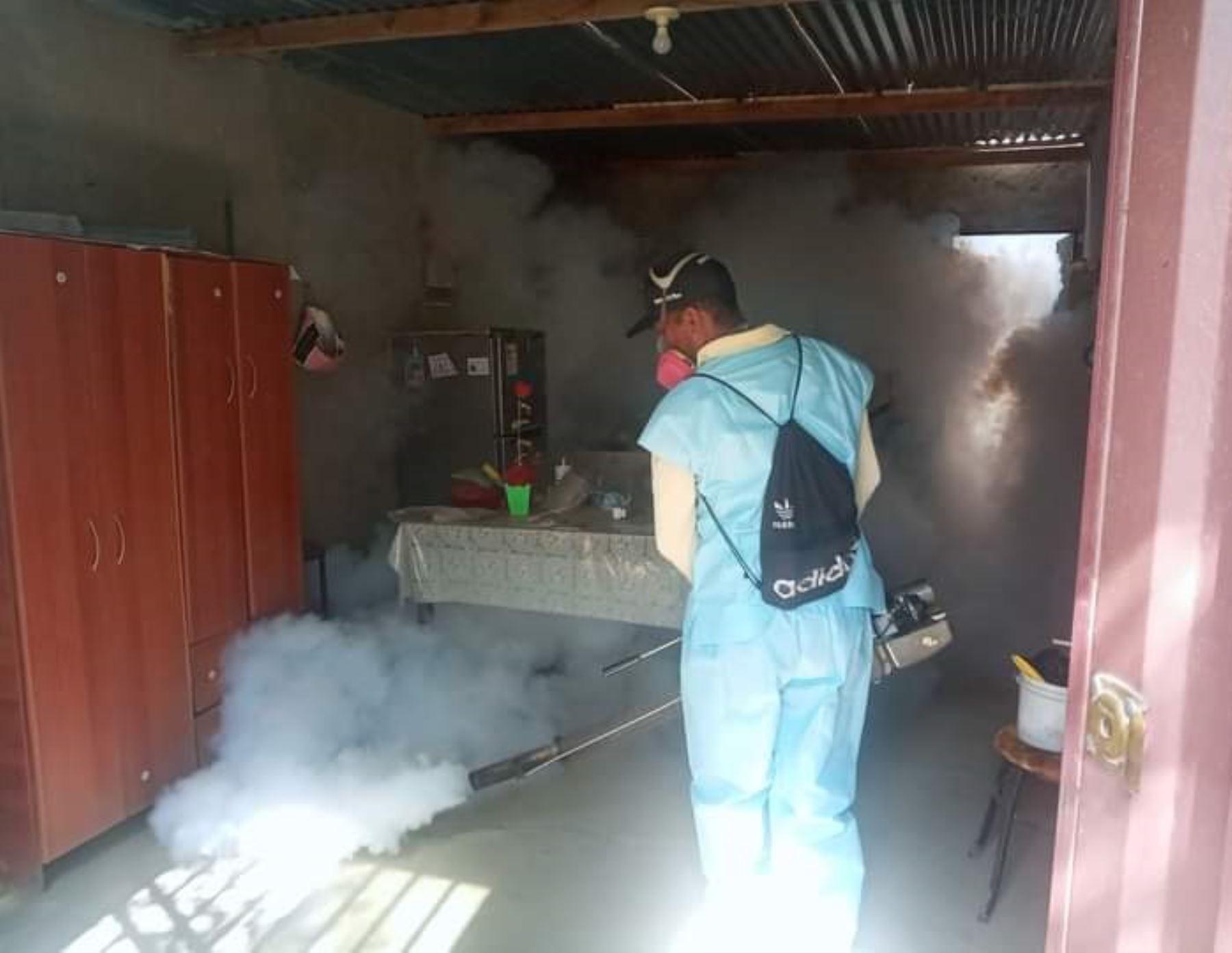 La Libertad registra 96 casos de dengue y las autoridades de salud emprendem acciones para controlar propagación de la enfermedad. ANDINA/Difusión